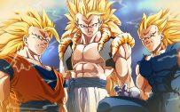 Dragon Ball Z Wallpaper 28 of 49 - Three Super Saiyan 3 in Close Up