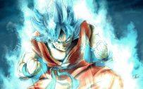 Son Goku Super Saiyan Blue for Wallpaper