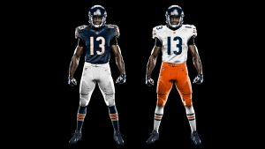 Chicago Bears Color Rush