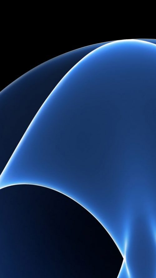 Curve Lights 05 for Samsung Galaxy S7 and Edge Wallpaper