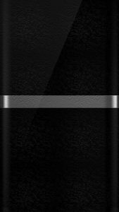 Dark S7 Edge Wallpaper 10 with Black and Silver color with Floral Texture