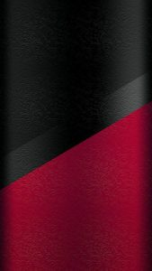 Dark S7 Edge wallpaper 04 with black and red floral pattern