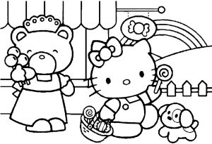 coloring pages free summer wallpaper - photo#36