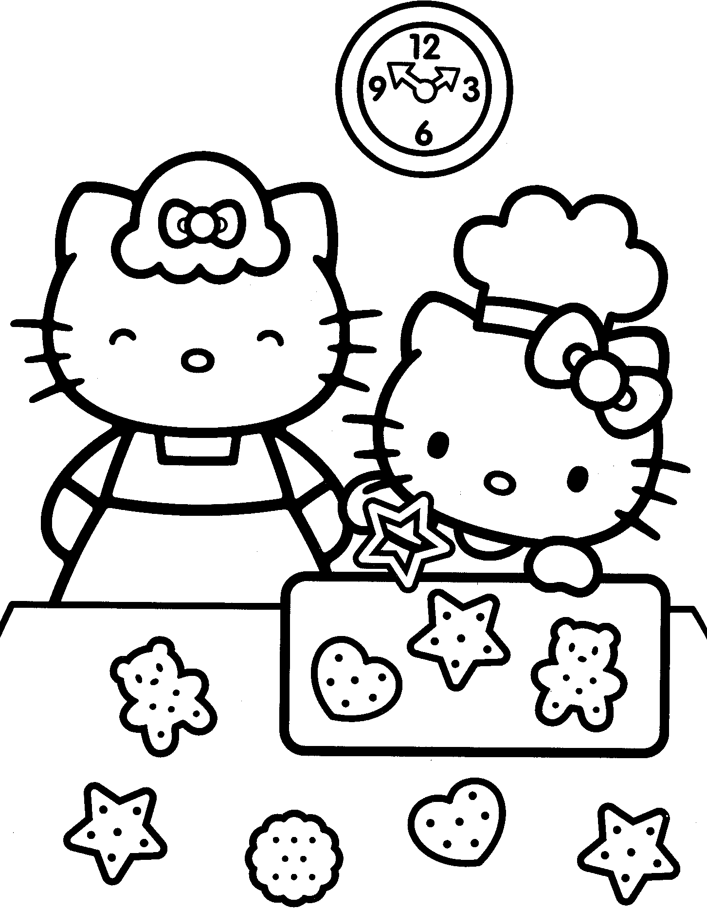 Top 75 Free Printable Hello Kitty Coloring Pages Online | 1868x1453