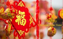 Chinese New Year Decorations for Wallpaper