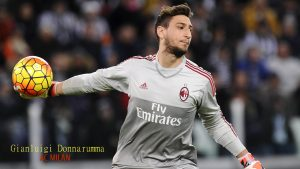 Photo of Gianluigi Donnarumma AC Milan Goalkeeper