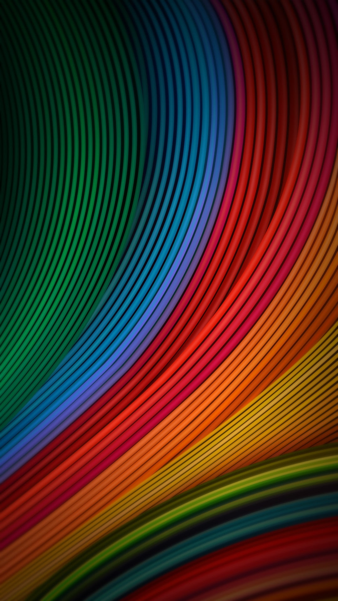 cool phone wallpapers 06 of 10 with colorful waves for for