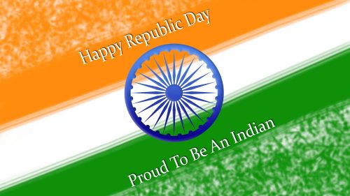 Republic Day Flag Image in HD