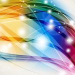 Abstract Windows 10 Background - Colorful Lines