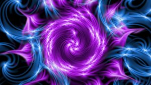 Cool Abstract Background with purple and blue
