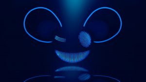 Deadmau5 Logo DJ Wallpaper Glowing in dark
