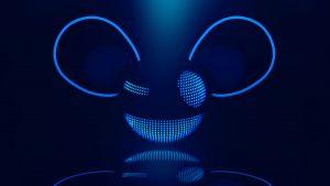 Deadmau5 Logo DJ Wallpaper Glowing in dark
