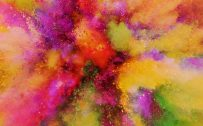 Free Download of LG V20 Wallpaper with Indian Holi Color