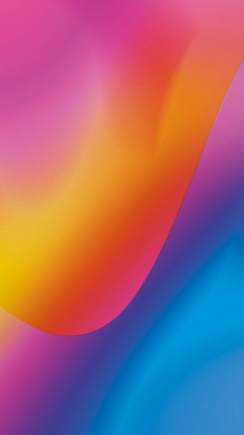 Lenovo K6 Enjoy Wallpapers: Lenovo K6 Note Wallpaper With Abstract Color Lights