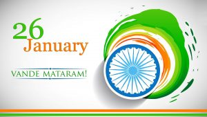 Republic Day Wallpaper Vande Mataram in HD