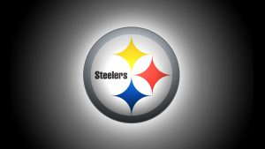 Steelers Background in HD with Backlight Effect