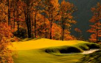 Autumn Golf Course Wallpaper in 1920x1080