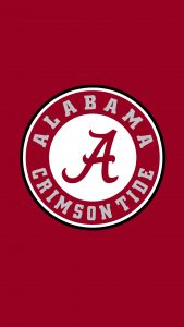 Free Alabama Wallpapers For Mobile Phones with The Logo