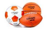 Pictures of Soccer Balls and Basketballs