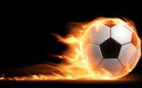 Pictures of Soccer Balls on Fire in High Resolution