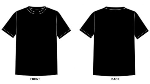 Blank Tshirt Template Black In P  Hd Wallpapers  Wallpapers