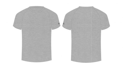Blank tshirt template for classroom