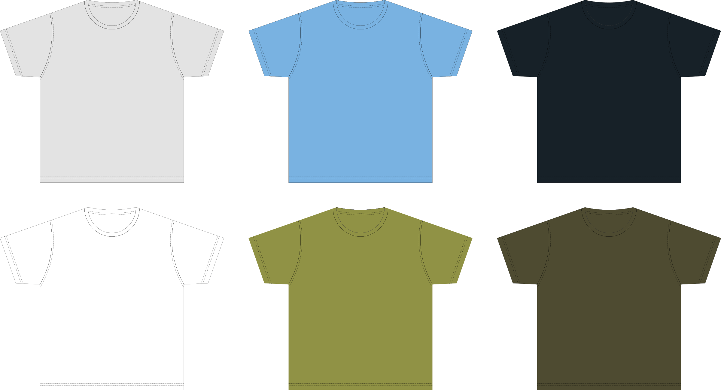 Blank Tshirt Template PNG for Design | HD Wallpapers ...