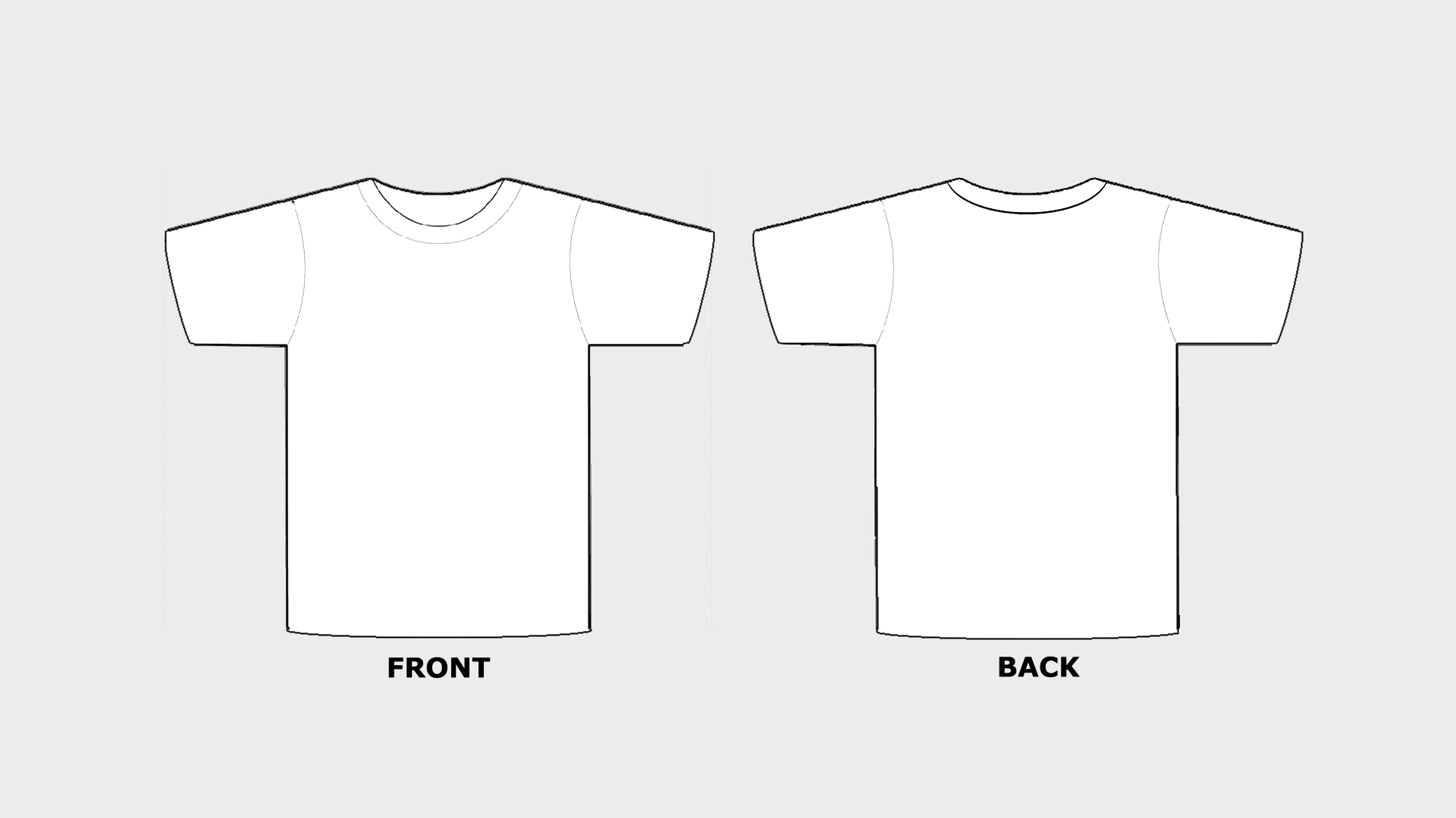 Blank tshirt template printable in hd hd wallpapers for T shirt template with model