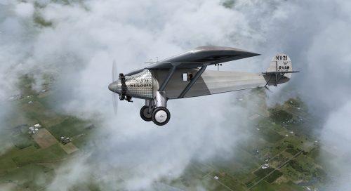 Antique Airplane Pictures - Spirit of St Louis