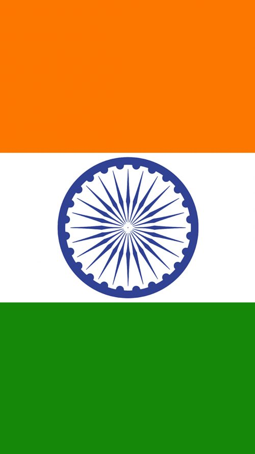India Flag for Mobile Phone Wallpaper 1 of 17 - For 5 Inch Android