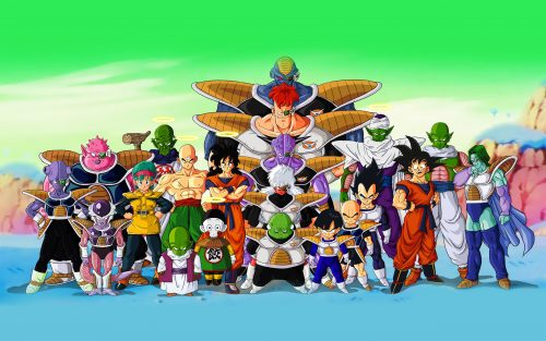 Dragon Ball Z Wallpaper - All Characters in High Resolution