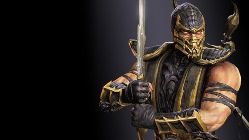 Mortal Kombat X Scorpio 3d Cool Video Games Wallpapers: Artistic Pictures Of Scorpion From Mortal Kombat