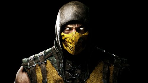 Close Up Pictures of Scorpion from Mortal Kombat