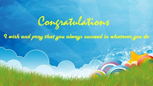 Congratulation Images Free with Quotes