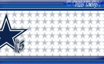 Dallas Cowboys Wallpaper Border Stars as Logo