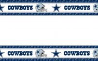 Dallas Cowboys Wallpaper Border with Stars and Helmet