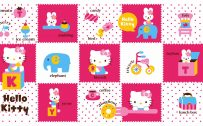 Hello Kitty Background for Desktop Wallpaper