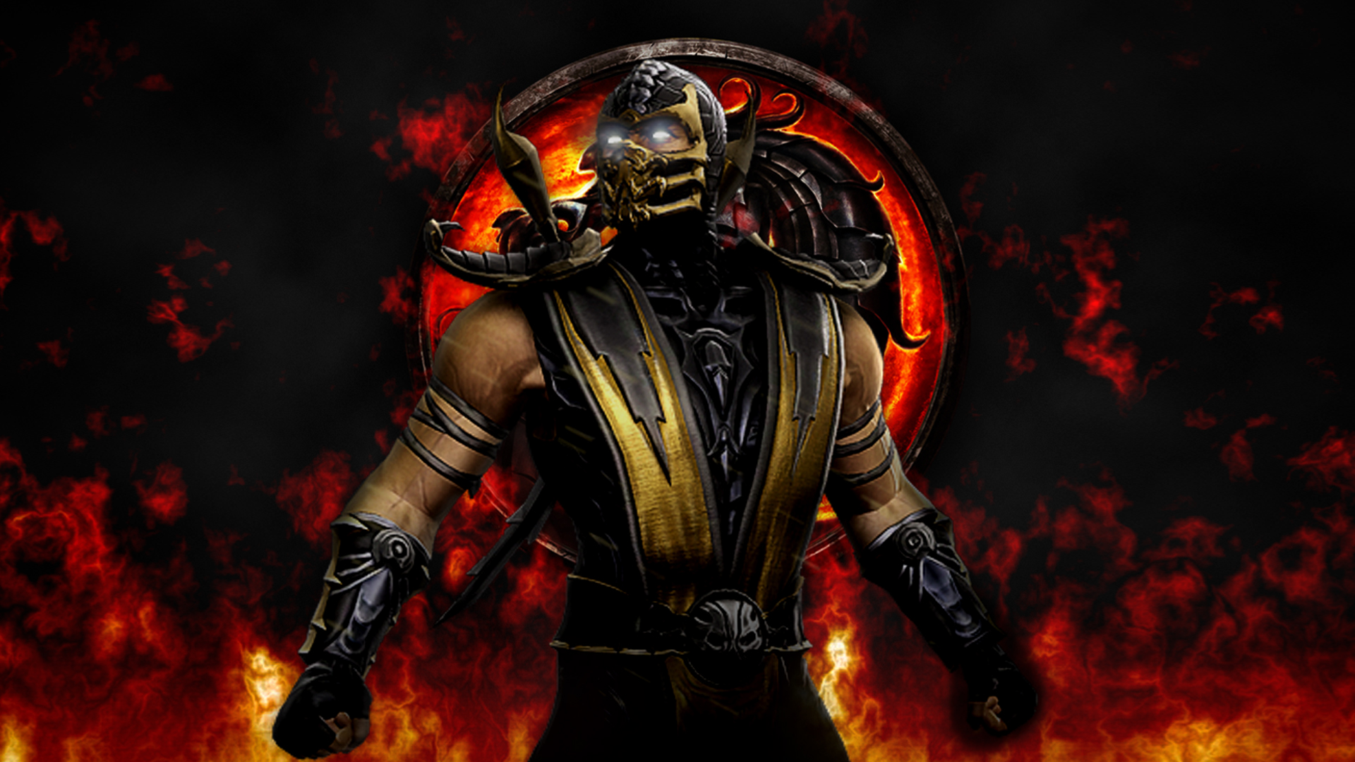 images of scorpion from mortal kombat for wallpaper hd