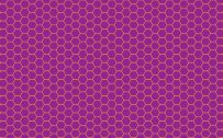 Plum Color Wallpaper with Plum and Orange Honeycomb