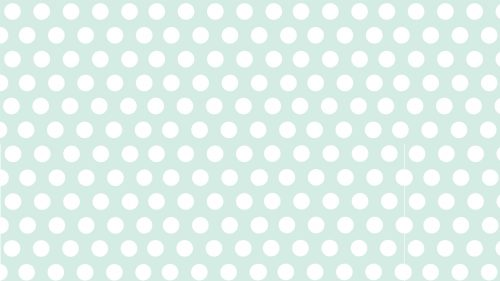 Polka Dot White and Mint Color Wallpaper