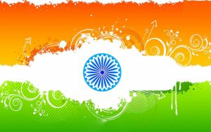 Republic Day Image with Tiranga Decoration
