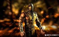 4K Images Of Scorpion From Mortal Kombat