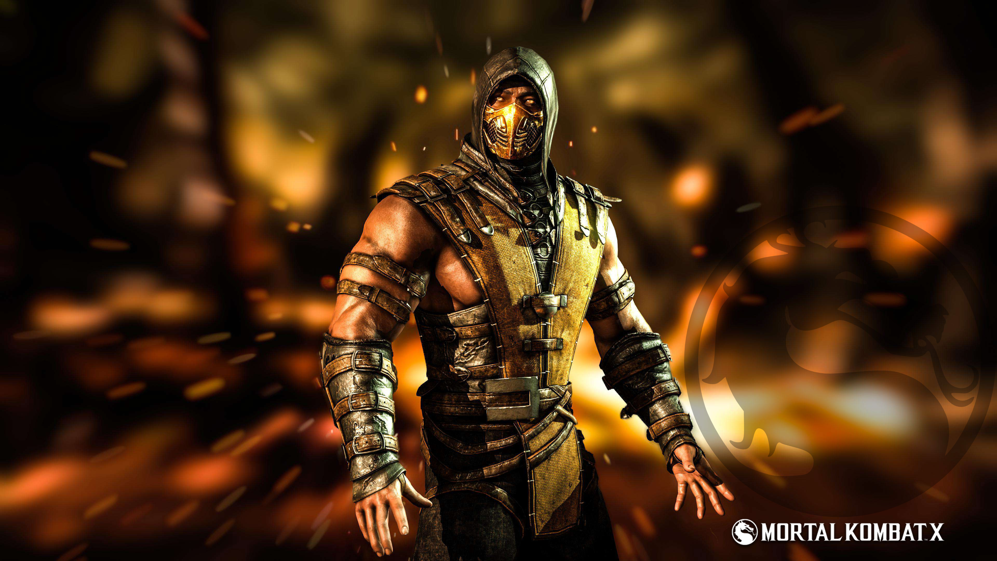 4k images of scorpion from mortal kombat hd wallpapers