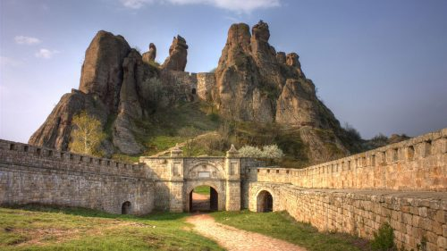 4K Picture with Belogradchik in Bulgaria