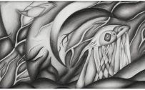 Abstract Art Using Pencil 03 0f 10