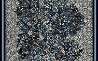 Abstract Art Using Pencil 07 0f 10 with Circles and Curved Lines