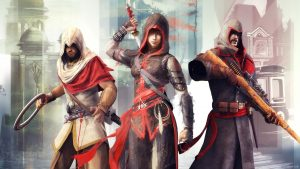 Attachment for Games Wallpaper of Shao Jun Character at Assassin's Creed Chronicles