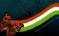 India Flag Art for Independence Day Wallpaper in HD Quality