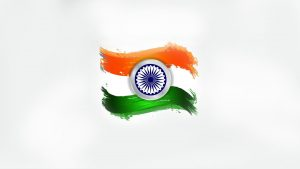 Indian Flag Pic HD with Simple Design