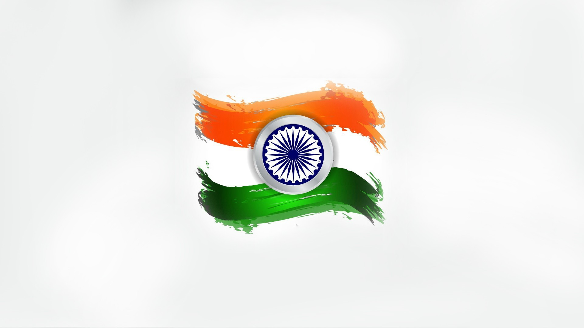 Flower With Indian Flag Hd: Indian Flag Pic HD With Simple Tricolor Design